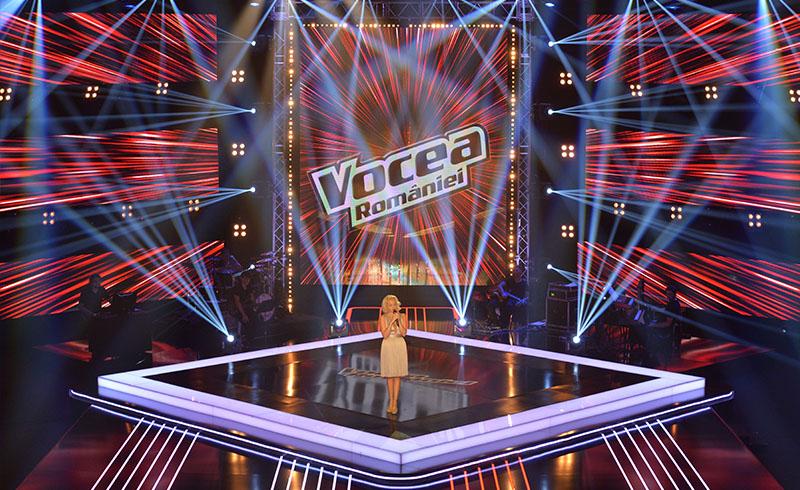 Organizare spectacole Emisiuni TV Vocea Romaniei