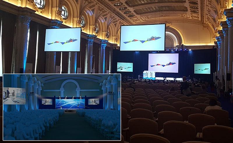 Organizare Evenimente Expozitie Aerodays simulare 3D si Eveniment