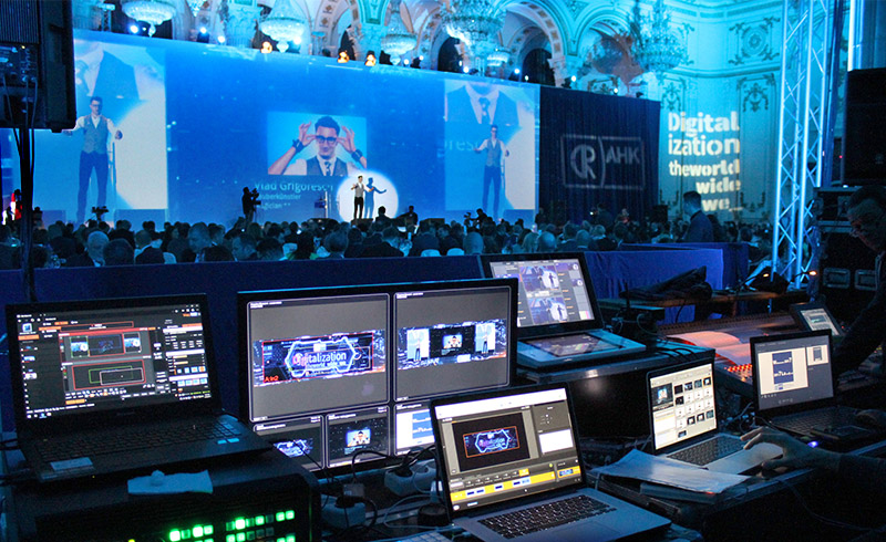 Eveniment Corporate Video Mapping videoproiectie echipamente