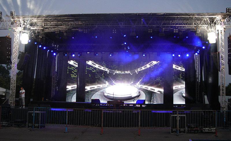 Pyro Festival Scena lumini sunet