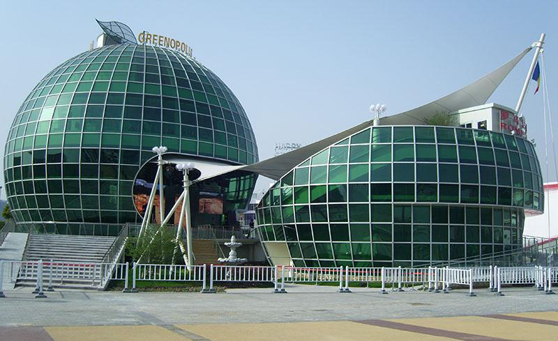 Targuri si Expozitii Expozitia mondiala Shanghai Productie Stand