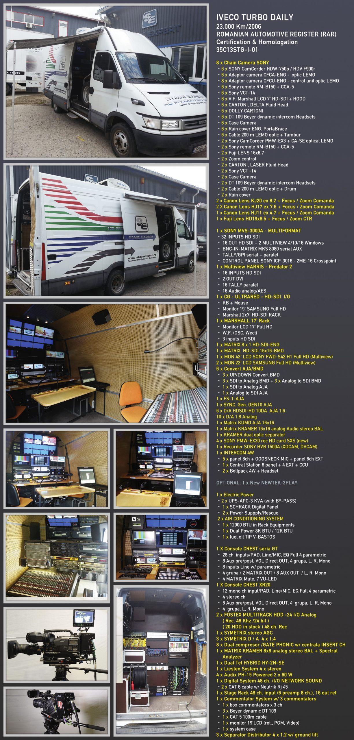 Brosura Interior CAR TELEVIZIUNE - OB Van