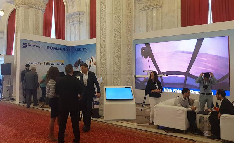 Productie Standuri Targuri si Expozitii Expozitie TANDEM Aerodays - Romaero
