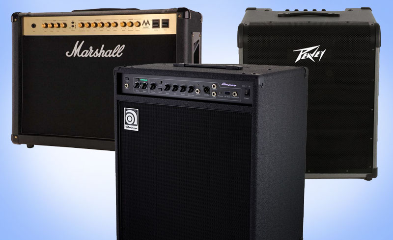 Amplificator bass Ampeg Peavey Marshall