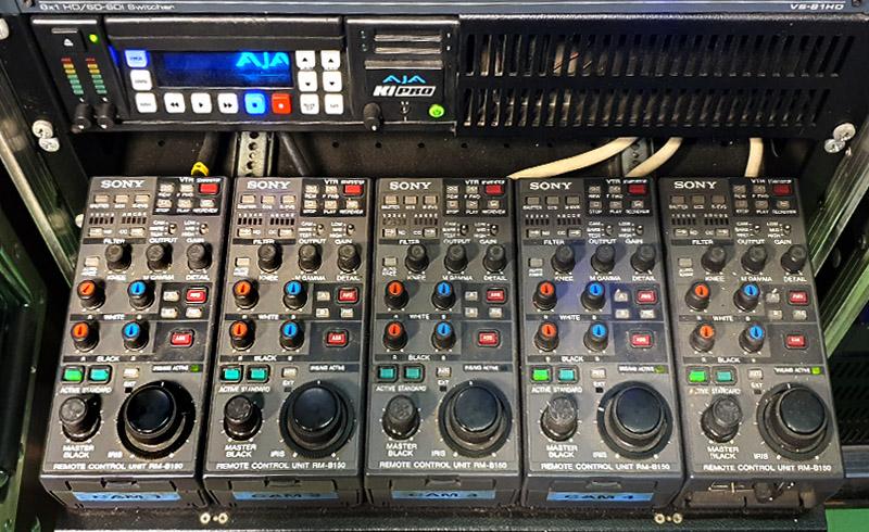Remote control camera filmare evenimente