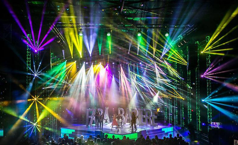 Evenimnet Live Show Lumini