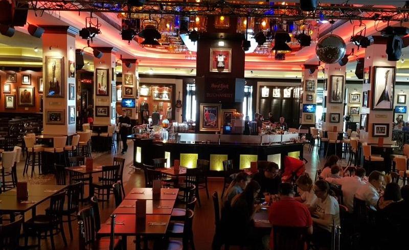 Hard Rock Cafe Bucuresti instalare echipamente