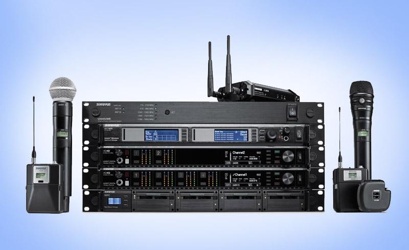 Sonorizare Concerte Microfon wireless digital Shure Axient