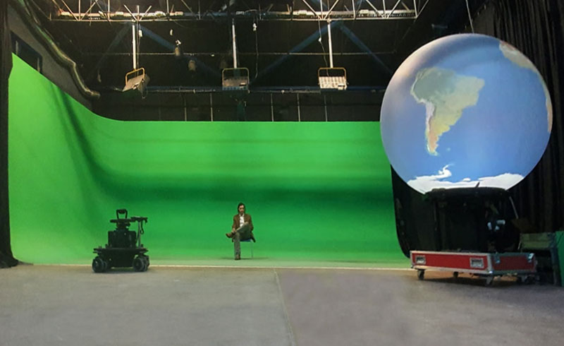 Studio de Televiziune PlatouChroma Key
