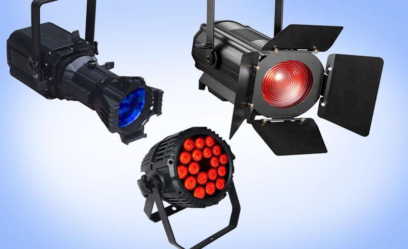 Reflectoare COB LED RGB