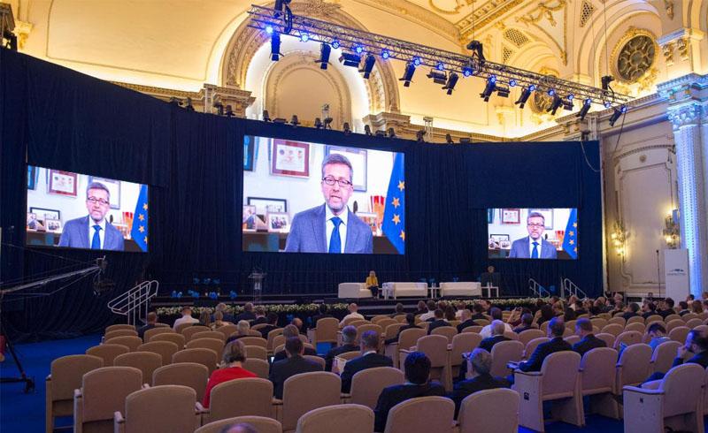 Videoproiectie Palatul Parlamentului