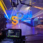 Platou LedScreen 5 EVENIMENTE-ONLINE Evenimente hibride studio Platou video