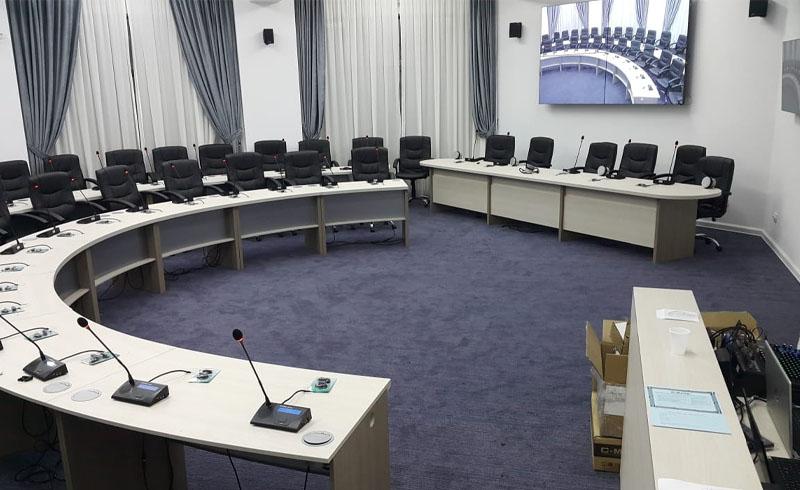 Sistem de conferinta Audio Video Lumini Ministerul Mediului